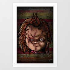 WANNA PLAY? Art Print
