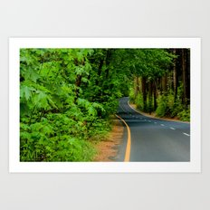 The Road II Art Print