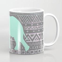 Mint Elephant  Coffee Mug