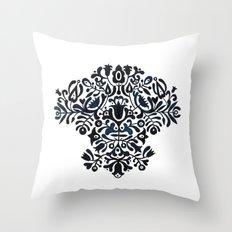 Folk pattern Throw Pillow