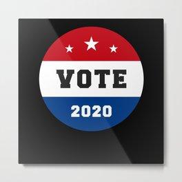 Election 2020 Shirts Metal Print