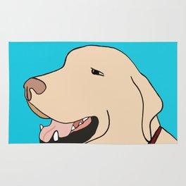 Sage A Yellow Labrador Rug