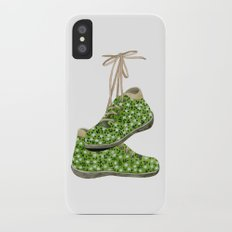 Floral Shoes iPhone X Slim Case