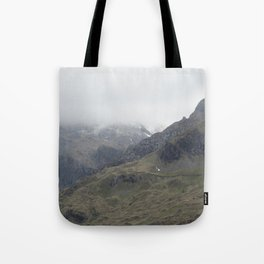 There be Mountains Tote Bag