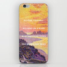 Sunset in the Sky with Diamonds iPhone Skin
