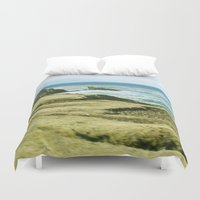 west coast Duvet Covers featuring West Coast by BRITADESIGNS