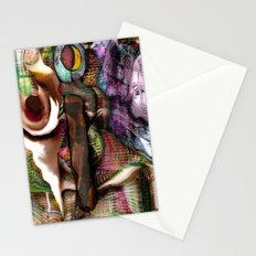 Abstracted Verbalism  Stationery Cards