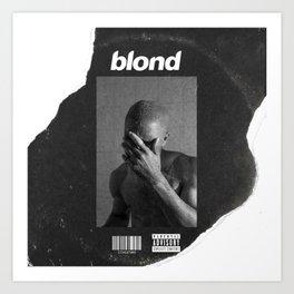 Blonde Vinyl Art Print