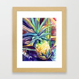 Kauai Pineapple 4 Framed Art Print