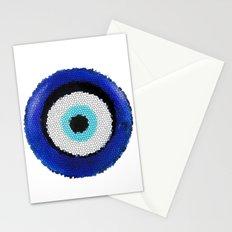 Blue eye Luck Stationery Cards