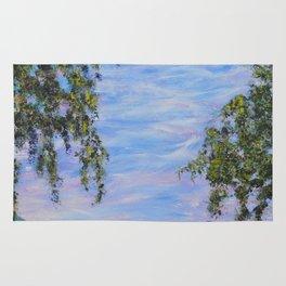 Moments In Time, Impressionism Landscape Rug