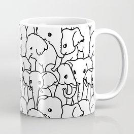 Oh Elephants Coffee Mug