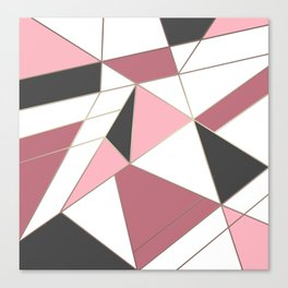 Abstraction . 4 geometric pattern Canvas Print