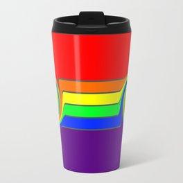 Rainbow With A Headache Travel Mug