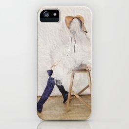 headless model No.01 iPhone Case