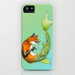 River Fox iPhone Case