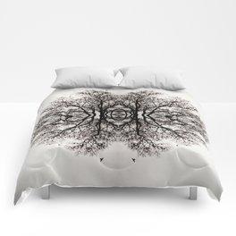 Winter Storm Ink Blot Comforters