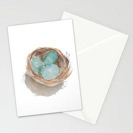 Robin's Nest Stationery Cards