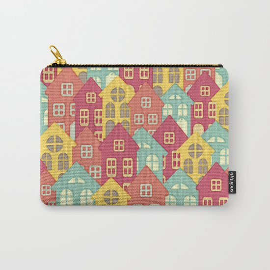 Houses on Hilltops Carry-All Pouch