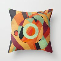 circus Throw Pillows featuring Circus by VessDSign