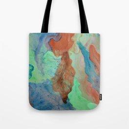 Inks through Tote Bag