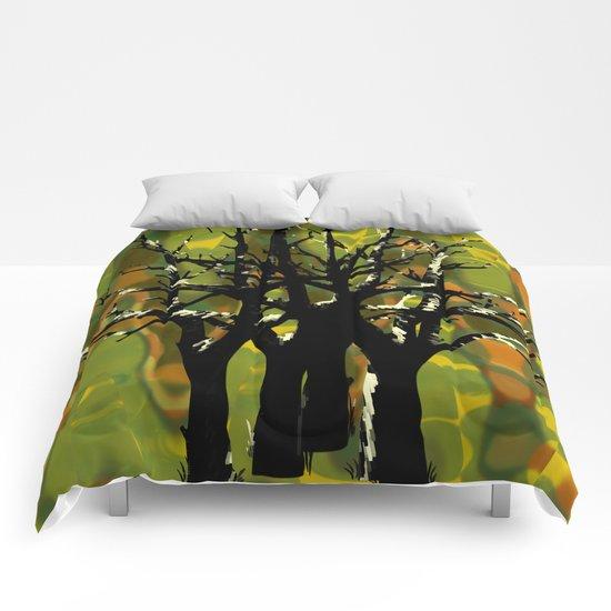 Tree Clusters Comforters