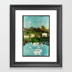 Landscapes c5 (35mm Double Exposure) Framed Art Print