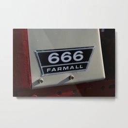 FARMALL 666 Metal Print