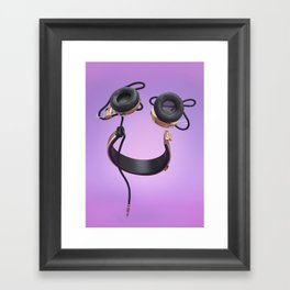Audiophile Framed Art Print