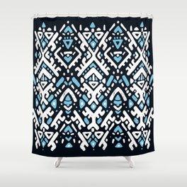 Aztec ornament Shower Curtain