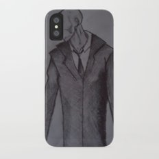 Man without a face. Slim Case iPhone X