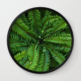 Shot in the Jungle Wall Clock