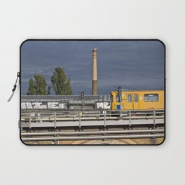 Yellow Train - Berlin Laptop Sleeve
