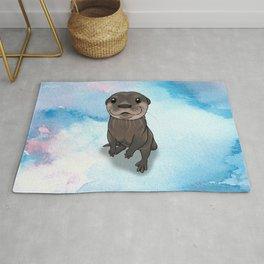 Otter Cuteness Rug