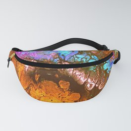 Psychedelic Vortex Fanny Pack