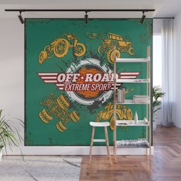Offroad Extreme Sport Wall Mural
