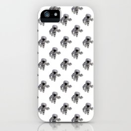 Seamless Background Astronaut iPhone Case