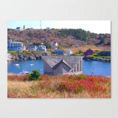 Monhegan Island Canvas Print