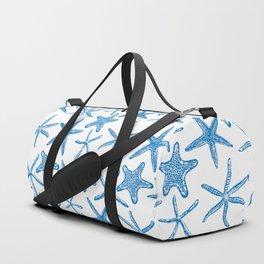 Sea stars in blue Duffle Bag