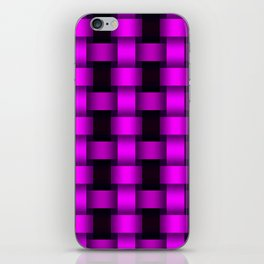 Ultra Violet Basket iPhone Skin