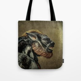 Portrait of a Werewolf Tote Bag