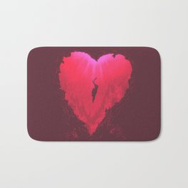 dive into your heart Bath Mat