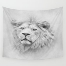 Barbary Lion Wall Tapestry
