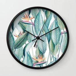 Back to Paradise Island #society6 #decor #buyart Wall Clock