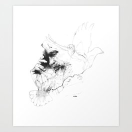 Father Time Art Print