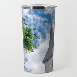 Tree & Bell Tower Travel Mug