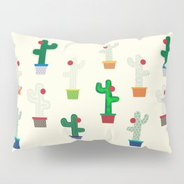 The Cactus! Pillow Sham
