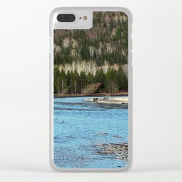 Sparkling River in Spring Clear iPhone Case