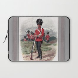Third Battalion Grenadier Guards, drawn from life by Frank Dadd Laptop Sleeve