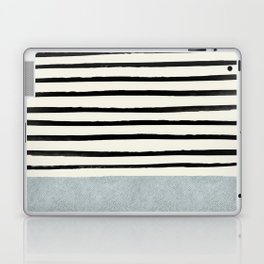 Silver x Stripes Laptop & iPad Skin